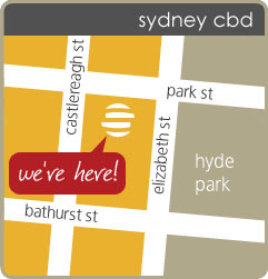 summerrolls map - corner park st and castlereagh st, sydney nsw